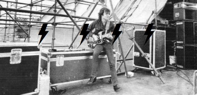 1981 / 08 / 22 - UK, Donington, Castle park 442