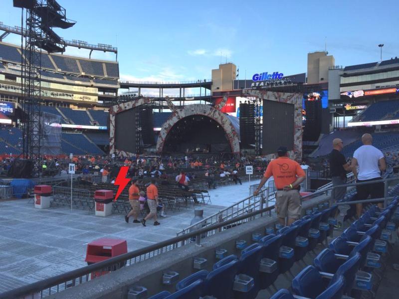2015 / 08 / 22 - USA, Foxborough, Gillette stadium 479