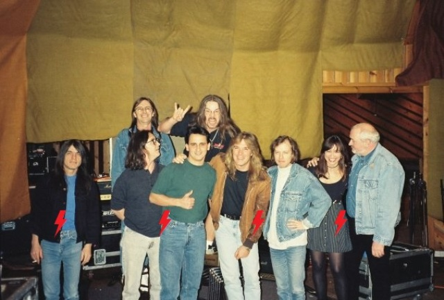 1995 / 08 / ?? - USA, New York, Power station studios 511