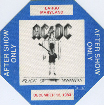 "1983 - Flick of the switch ""North American Tour"" 816"