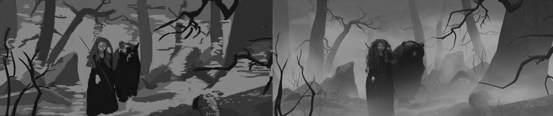Les gribouilles d'Atna: objectif landscape et persos - Page 6 Etudes10