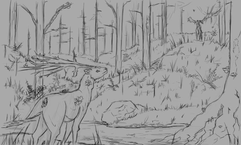 Les gribouilles d'Atna: objectif landscape et persos - Page 5 Pouet10