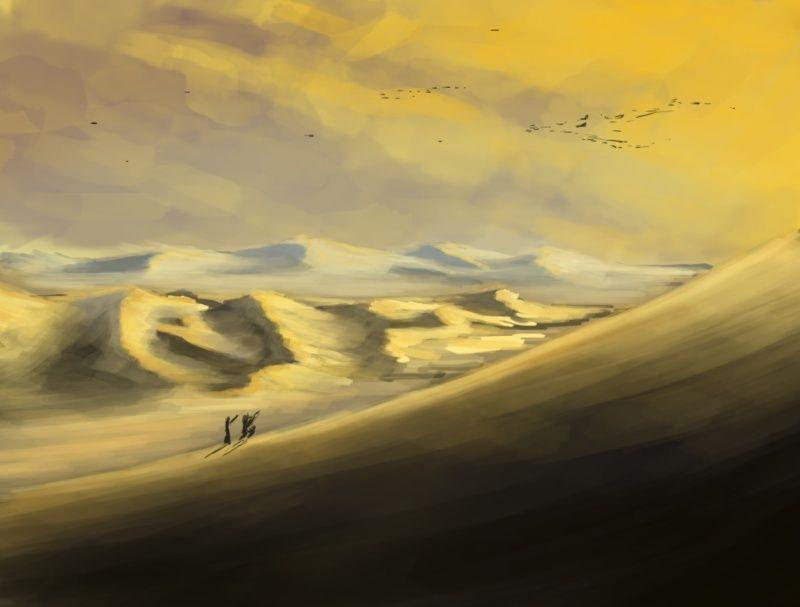 Les gribouilles d'Atna: objectif landscape et persos - Page 6 Pouet11