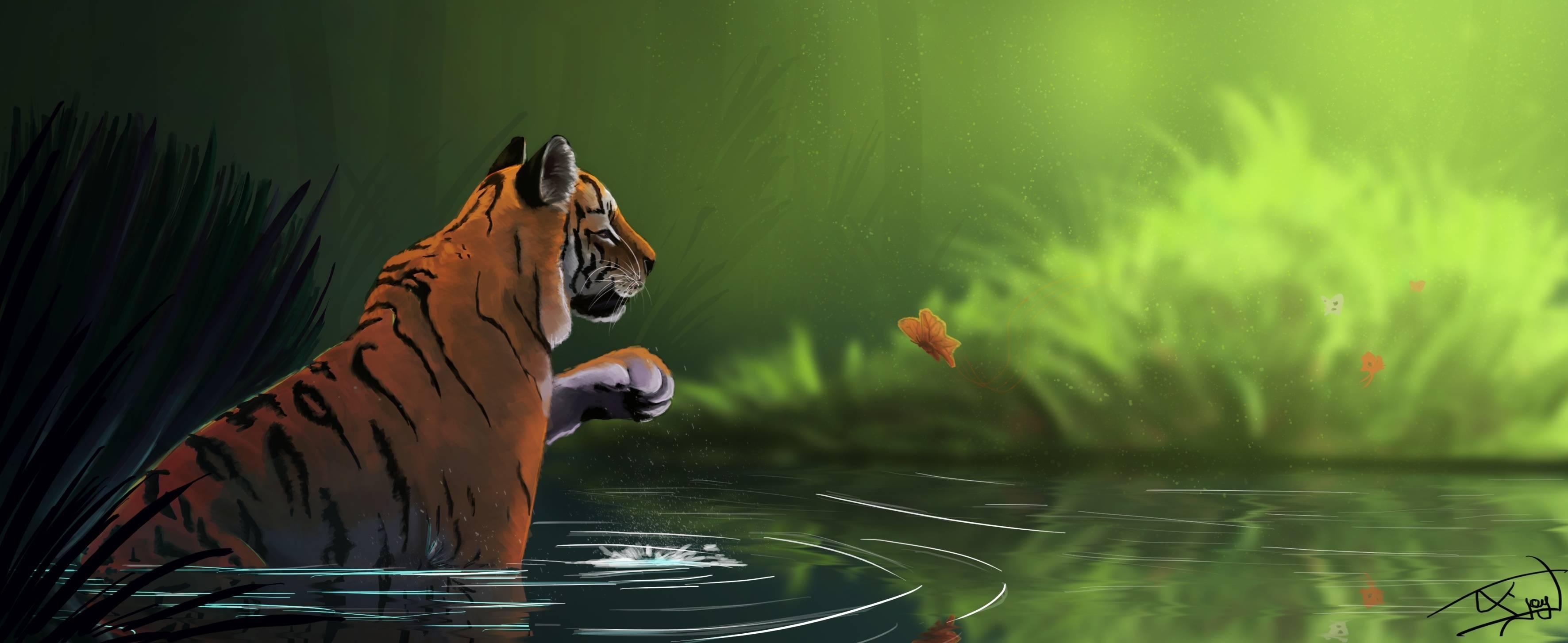 Les gribouillages d'Atna - Page 2 Tigre_12