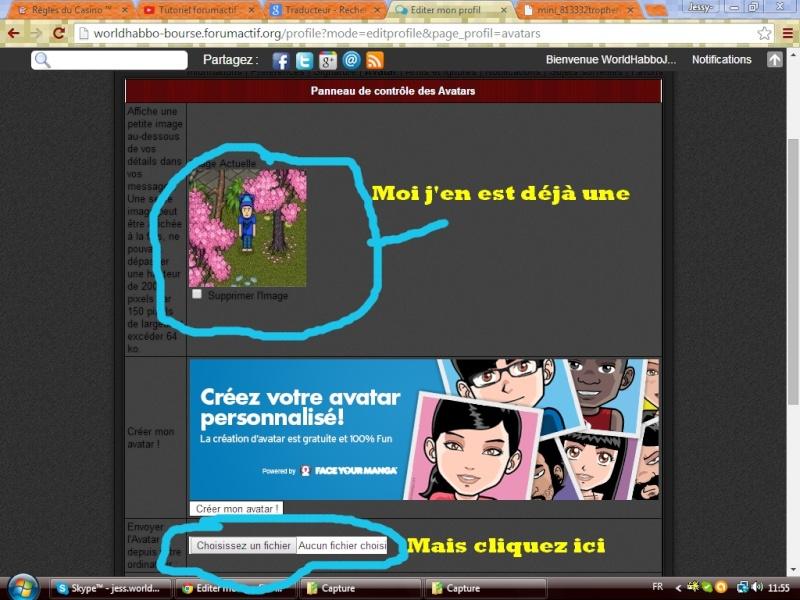 Ajouter un avatar Captur12