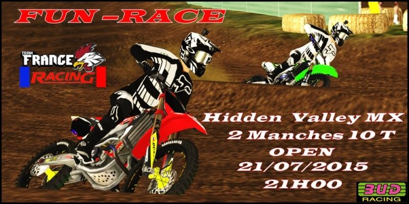 """""""Fun-Race"""" TFR - 21/07/2015  Hidden Valley MX Affich11"""