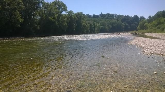 nymphe - Nymphe à vue sur la rivière d'Ain 11051710