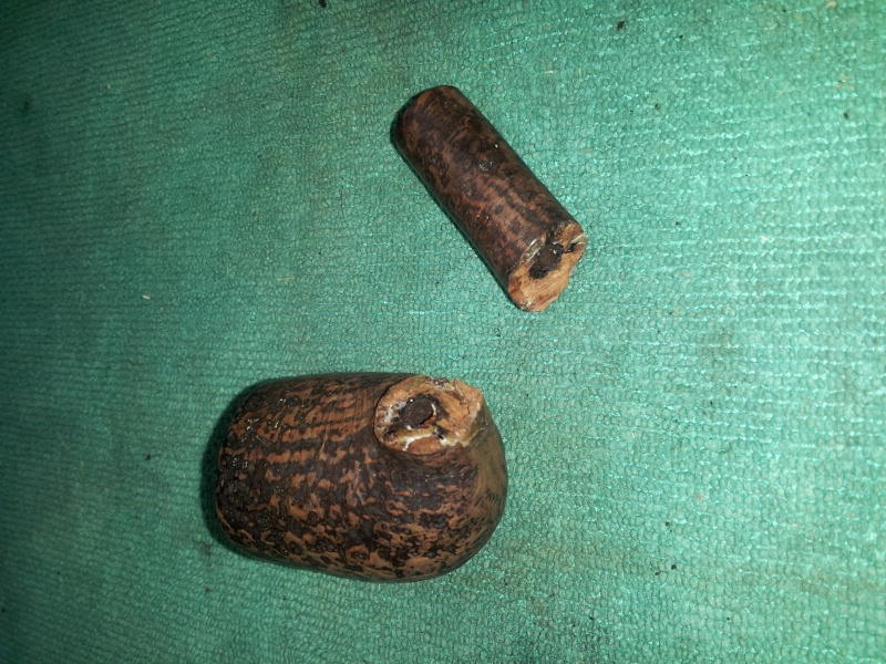 Another refurb - a Dunhill Shell Briar that met a sad fate. 20150818