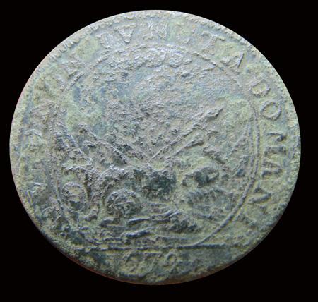 Jeton pour Louis XIV, 1674 Dscf9515