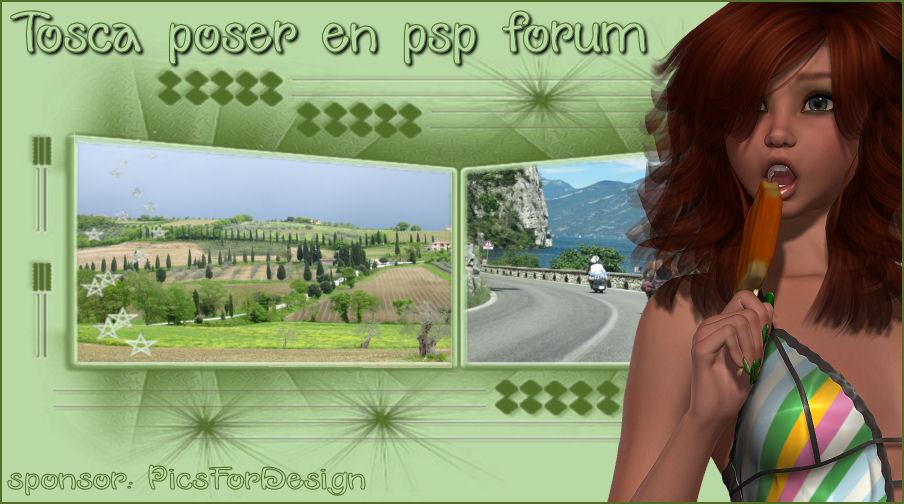 Tosca poser en psp forum