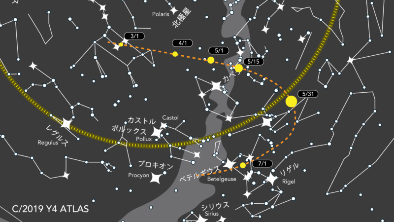 Off Topic New Comet  Atlas_10