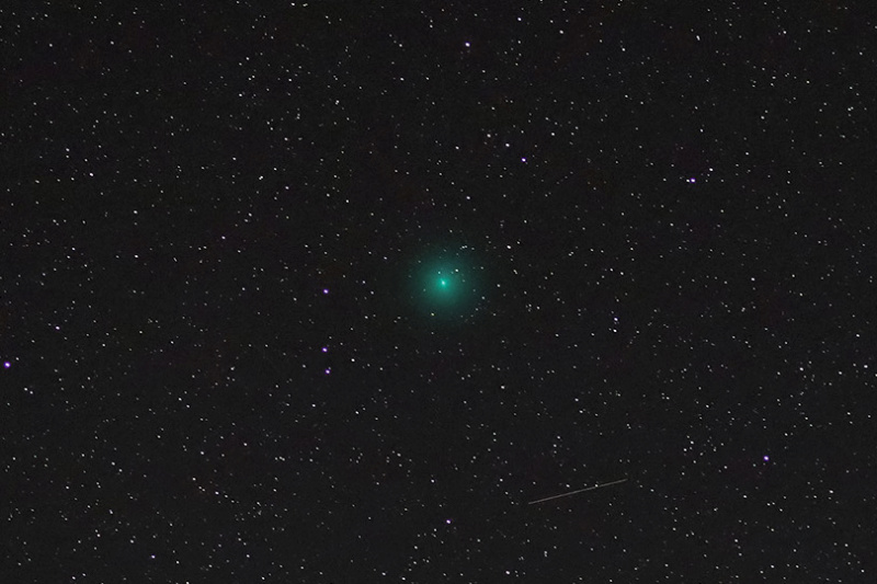 """Christmas Comet of 2018"" (46P/Wirtanen) is visible in the skies now... (PICS) Img_9512"