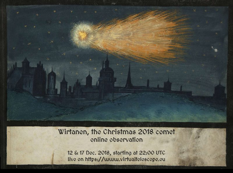 """Christmas Comet of 2018"" (46P/Wirtanen) is visible in the skies now... (PICS) Wirtan11"