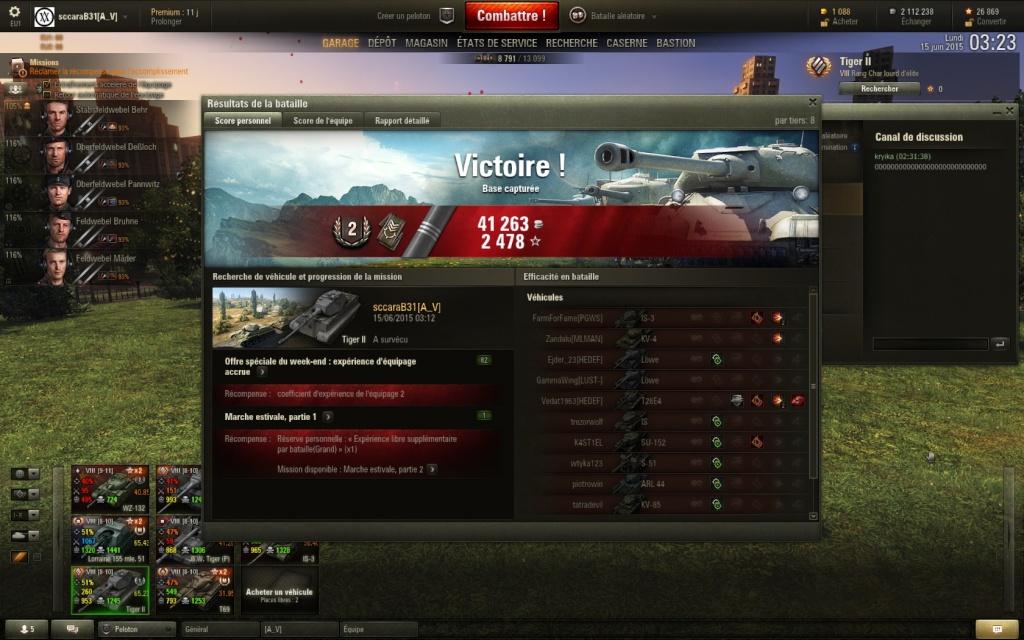 """1ere marque """"tiger II"""" Shot_020"""