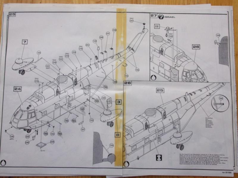 SUD AVIATION SA 321 SUPER FRELON Réf 81196 Notice 100_0083