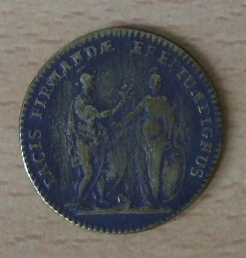 Jeton Louis XV- Traité de Séville. Dscf9120