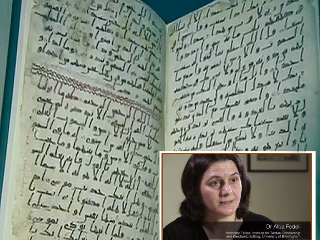 Coran Antique, rien ne prouve que le prophete ne l'avait pas en main Coran_13