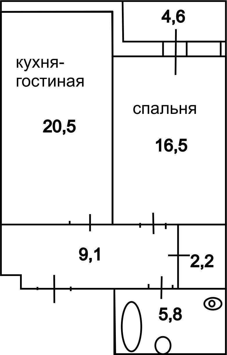 """Продается 1 ккв в ЖК """"Шведская крона"""", Удельный парк, Петербург Z_oeei10"""