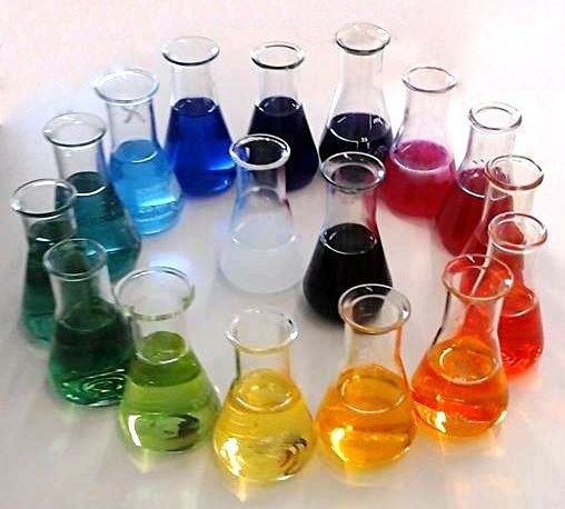 Le PH de l'eau Colore10