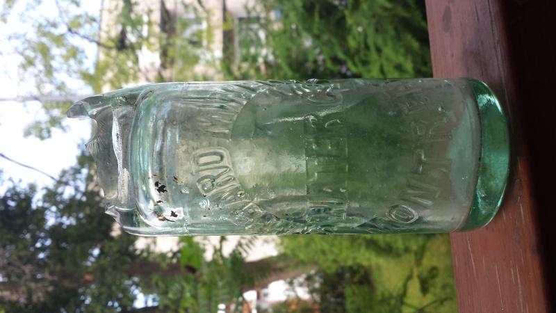Une Nouvelle bouteille CODD de MONTREAL 20150716