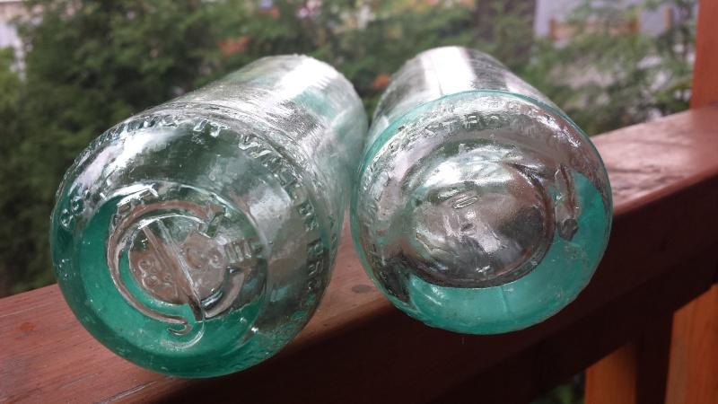 2 BOUTEILLES DE SODA BIMAL À VENDRE Ac110
