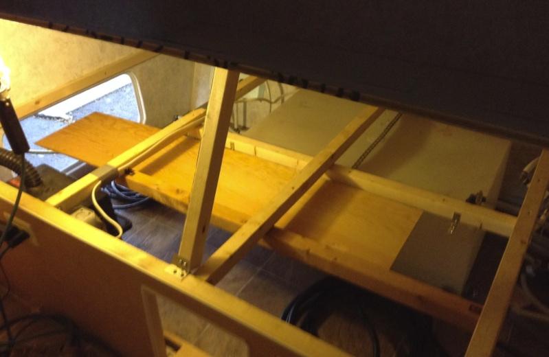 Max 21, sous le lit, Rangement du cable 30 amp. Chcabl13