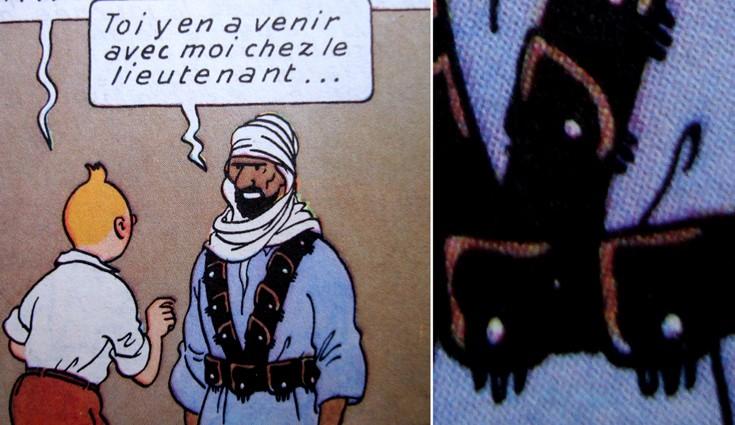 Mousqueton & méharistes Tintin10