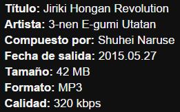 Ansatsu Kyoushitsu OP2 Single – Jiriki Hongan Revolution Info11