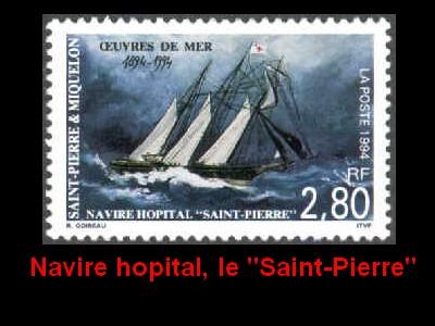 ST-PIERRE & MIQUELON - L'épopée maritime des Terre-Neuvas  1910