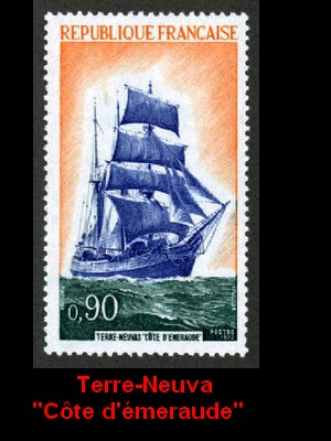 ST-PIERRE & MIQUELON - L'épopée maritime des Terre-Neuvas  2310