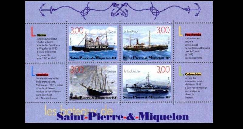 ST-PIERRE & MIQUELON - L'épopée maritime des Terre-Neuvas  2910