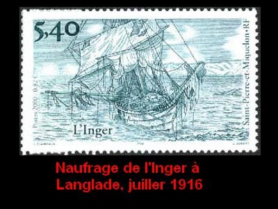 ST-PIERRE & MIQUELON - L'épopée maritime des Terre-Neuvas  3010