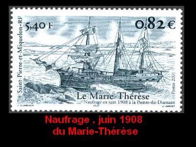 ST-PIERRE & MIQUELON - L'épopée maritime des Terre-Neuvas  3110
