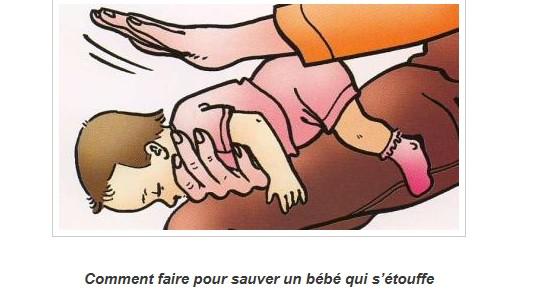 Conseils des médecins : comment faire pour sauver un bébé qui s'étouffe  Sans_239