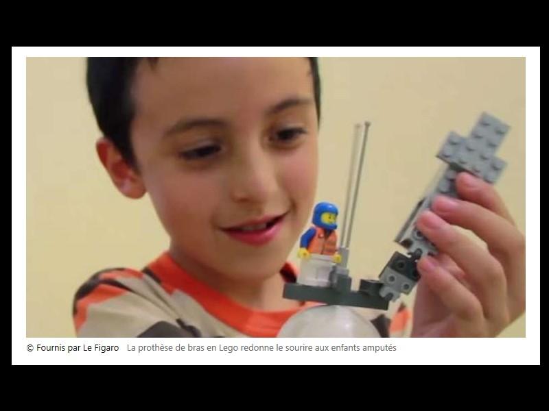 Un ingénieur développe une prothèse en Légo pour les enfants amputés Sans_541