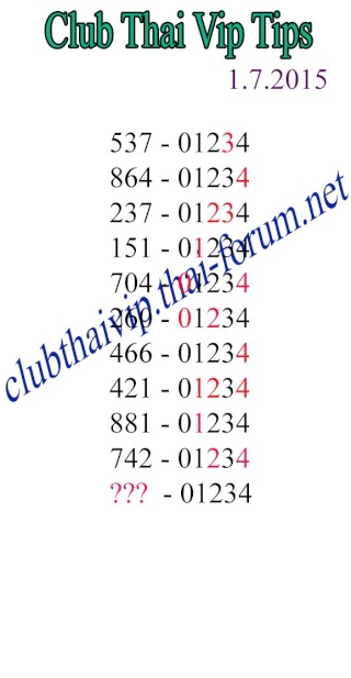free tip for 1.7.2015 - Page 2 Clubth17