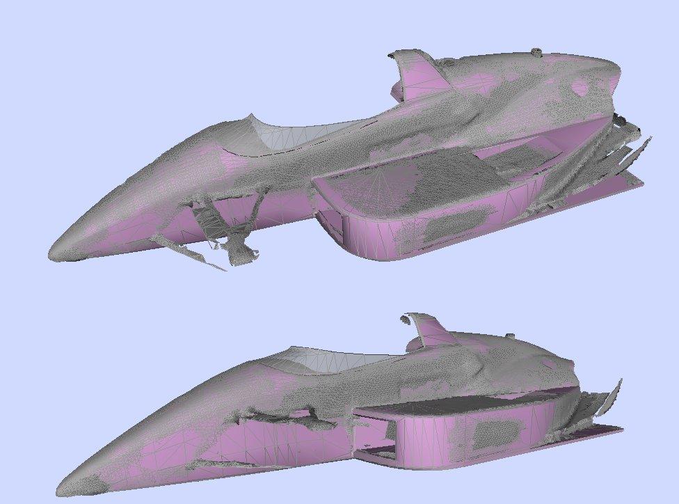 Laser scan car modelling Laser-10