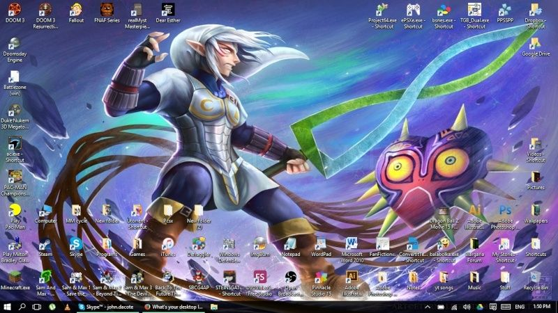 What's your desktop look like? Take a screenshot! - Page 2 Untitl12