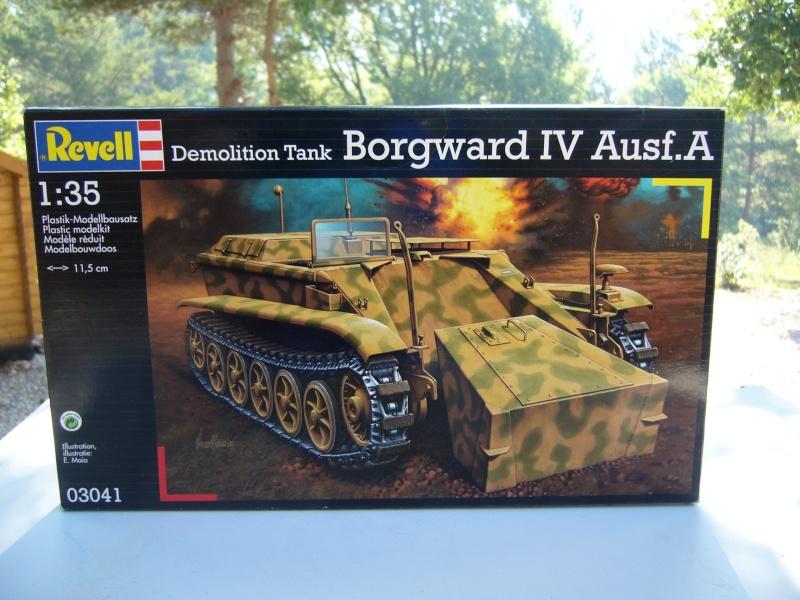 Demolition tank Borgward IV ausf A, REVELL 1/35 P1020614