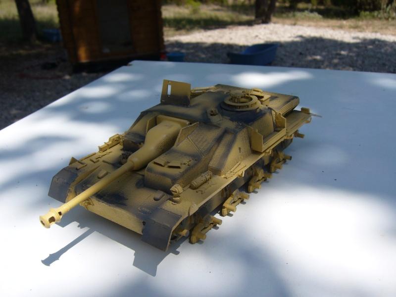 Sd.Kfz. 163 Sturmgeschütz IV Tamiya + chenilles Tamiya + Zimmerit Eduard +canon RB Model - 1/35 - Page 5 P1020822