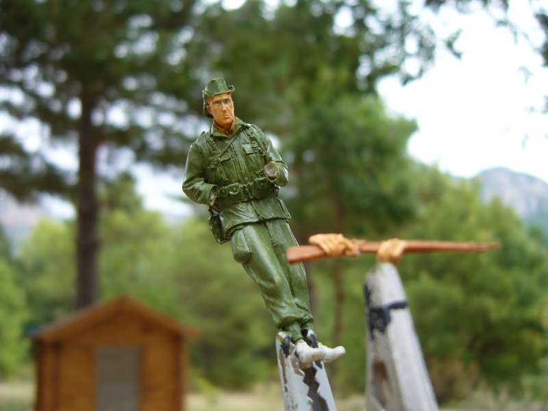 Légionnaire français en Indochine 1950 - Figurine Steelmaster 1/35 P1020835