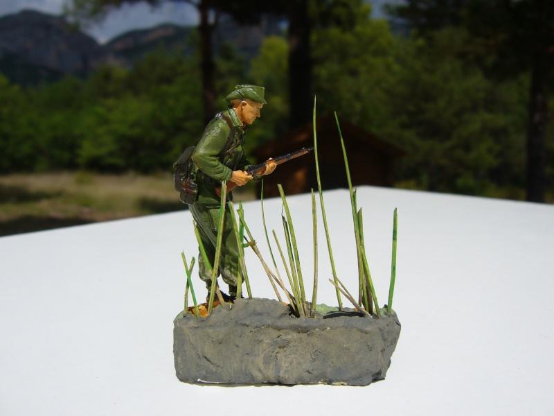 Légionnaire français en Indochine 1950 - Figurine Steelmaster 1/35 P1020840