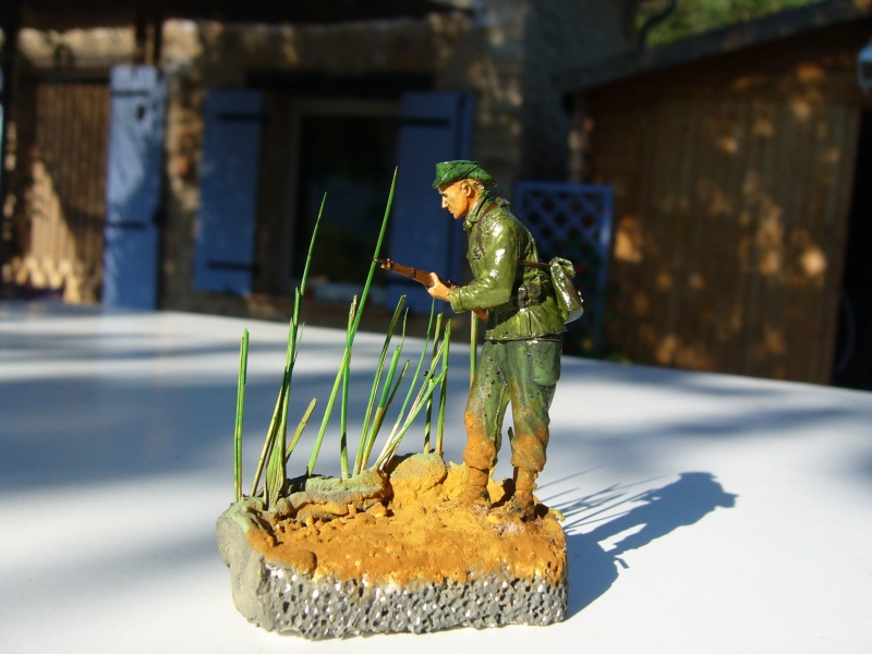 Légionnaire français en Indochine 1950 - Figurine Steelmaster 1/35 P1020841