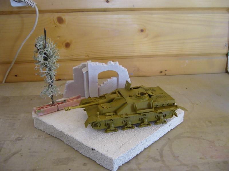Sd.Kfz. 163 Sturmgeschütz IV Tamiya + chenilles Tamiya + Zimmerit Eduard +canon RB Model - 1/35 - Page 6 P1020914