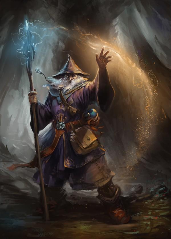 De Gandalf à Qadehar en passant par tout leurs compagnons. Les Praticiens des Arts Occultes. _6710