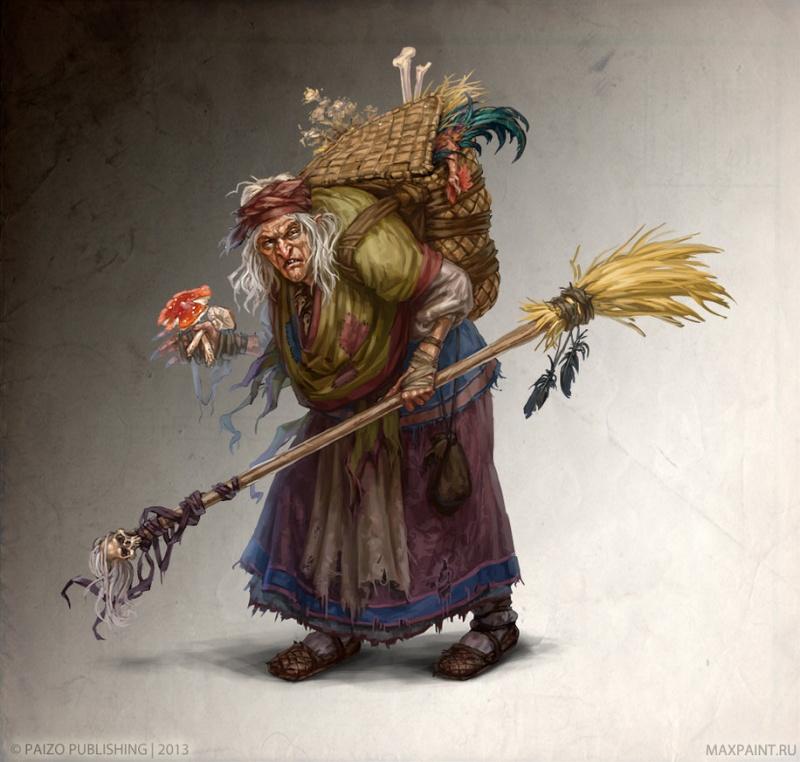 De Gandalf à Qadehar en passant par tout leurs compagnons. Les Praticiens des Arts Occultes. Baba_y10
