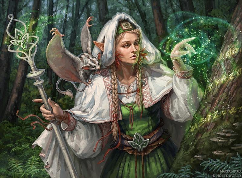 De Gandalf à Qadehar en passant par tout leurs compagnons. Les Praticiens des Arts Occultes. Green_10