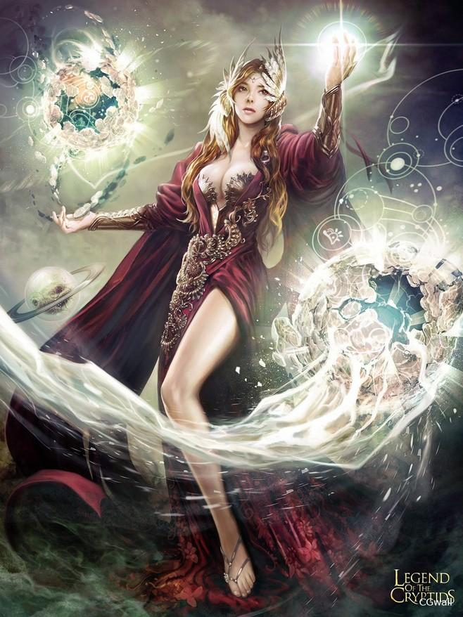 De Gandalf à Qadehar en passant par tout leurs compagnons. Les Praticiens des Arts Occultes. Legend10