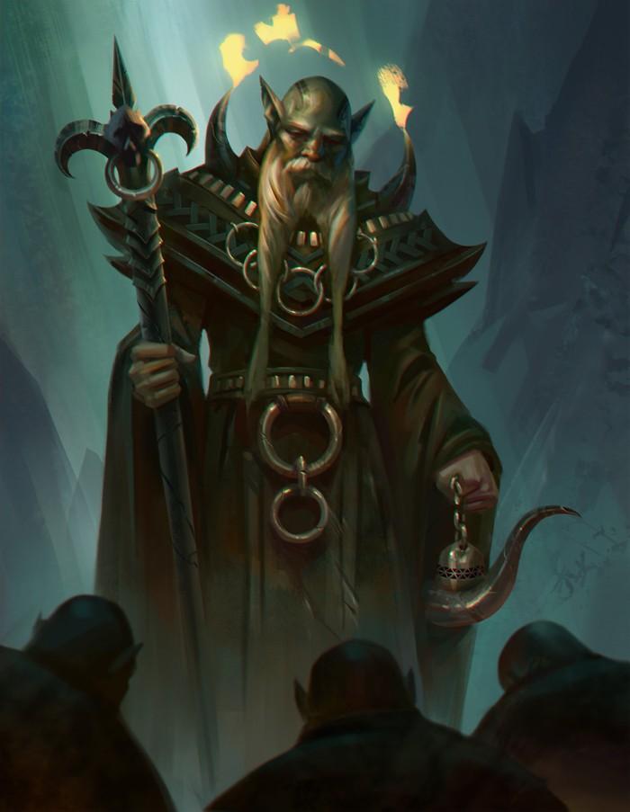 De Gandalf à Qadehar en passant par tout leurs compagnons. Les Praticiens des Arts Occultes. Mystic10