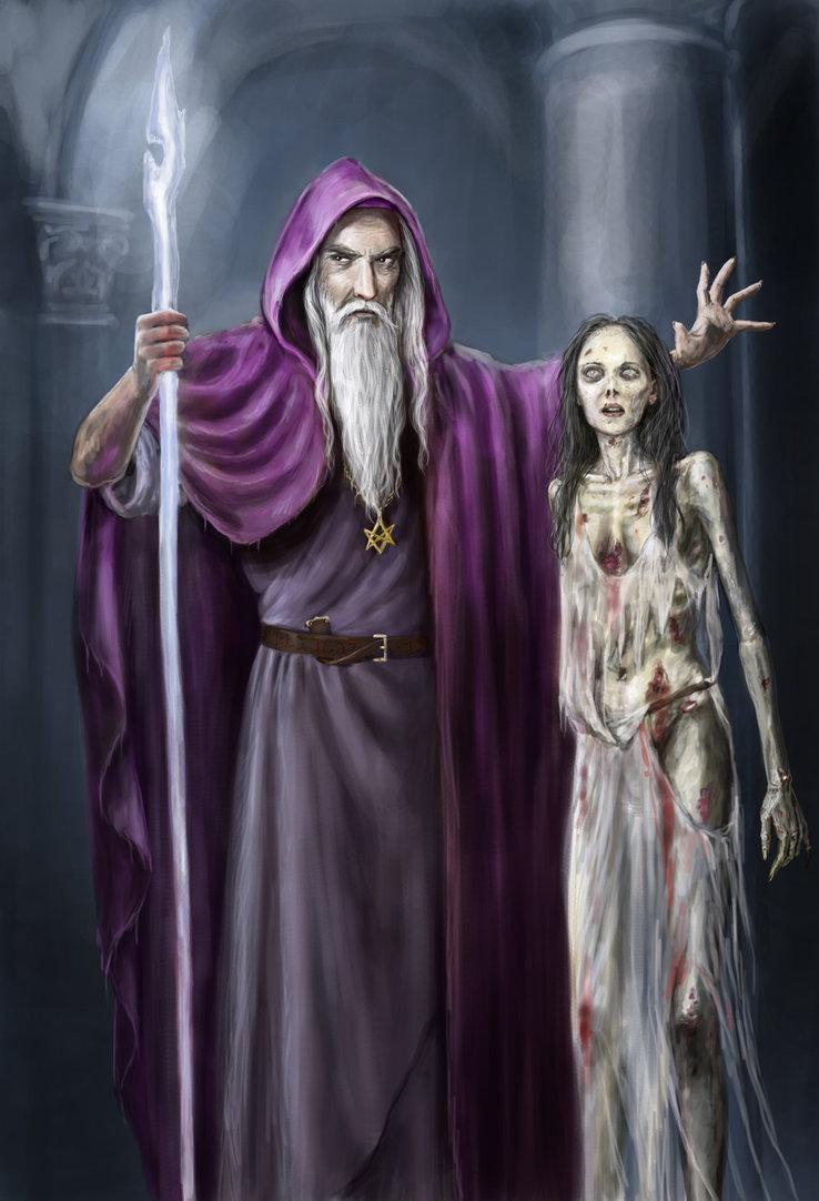 De Gandalf à Qadehar en passant par tout leurs compagnons. Les Praticiens des Arts Occultes. Necrom10